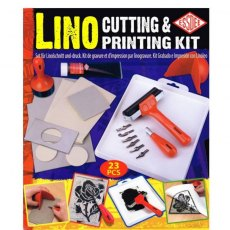 Lino Cutting and Printing Kit - 23 Pieces