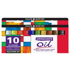 Daler Rowney Graduate 10 Oil Colour Set
