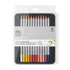 Winsor & Newton Soft Thick-Core Colour Pencils