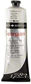 Daler Rowney Georgian Oil Paint - Titanium White 225 ml