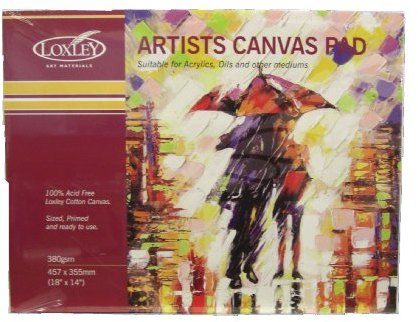 Loxley Arts Loxley Canvas Pad - 10 Sheets 360 gsm
