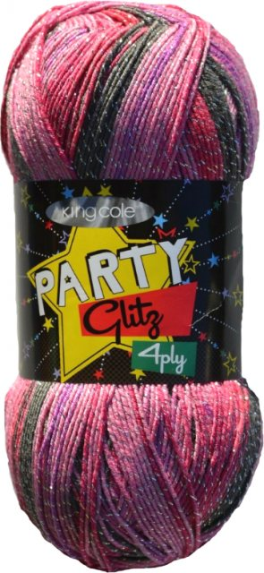 King Cole King Cole Party Glitz 4ply - Fairy